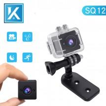 Мини камера DVSQ12 водоустойчива с full HD резолюция и инфрачервено виждане SC15