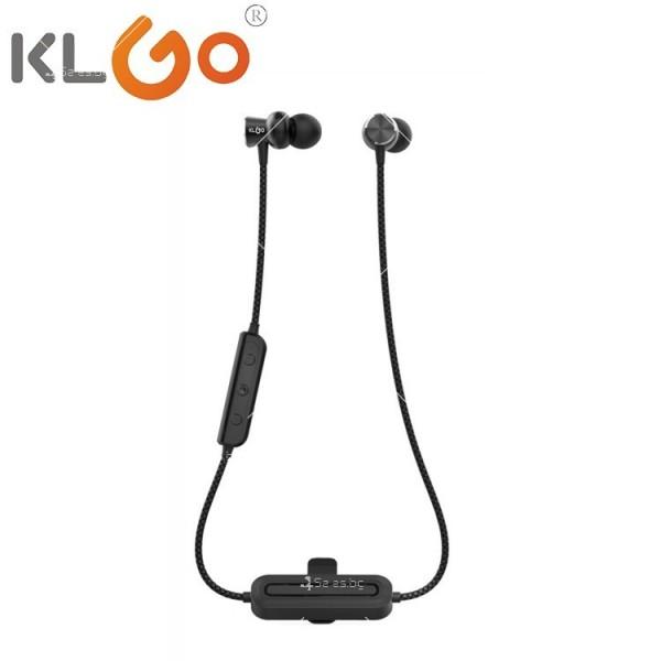 Жични спортни Bluetooth слушалки с магнит KLGO HK-10BL EP63 3