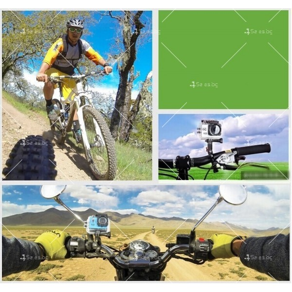Водоустойчива Wi-Fi спортна камера SJ6000 SC3 15