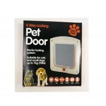 Врата за домашни любимци с 4 метода на заключване TV502