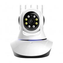 Безжична панорамна камера за видеонаблюдение с 360-градуса и 2K пиксела IP36