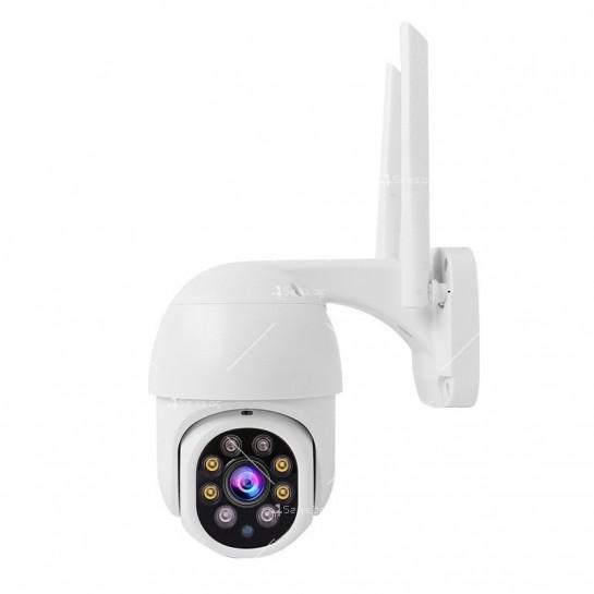 Охранителна камера с изкуствен интелект и цветна картина с висока резолюция IP40