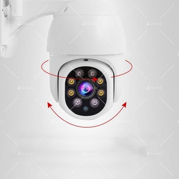 Охранителна камера с изкуствен интелект и цветна картина с висока резолюция IP40 2