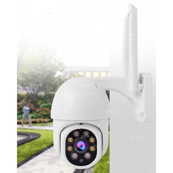 Охранителна камера с изкуствен интелект и цветна картина с висока резолюция IP40 4