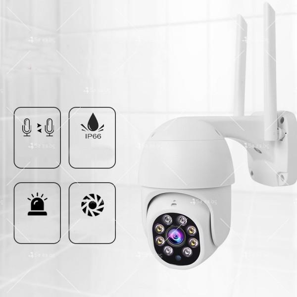Охранителна камера с изкуствен интелект и цветна картина с висока резолюция IP40 6