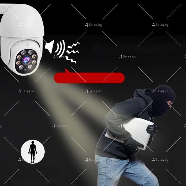 Охранителна камера с изкуствен интелект и цветна картина с висока резолюция IP40 7
