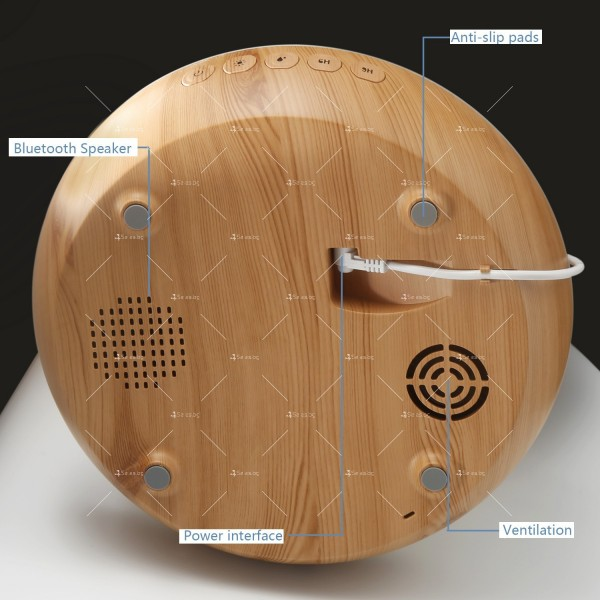 Дифузер, пречиствател на въздух и ароматизатор с LED светлини TV832 10