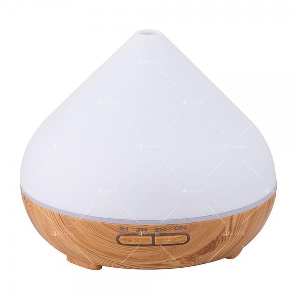 Арома овлажнител за въздух, 3 режима на работа и LED светлини TV835