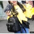 Дамска раница от висококачествена кожа в к-т с две мини чанти и портмоне BAG90 12