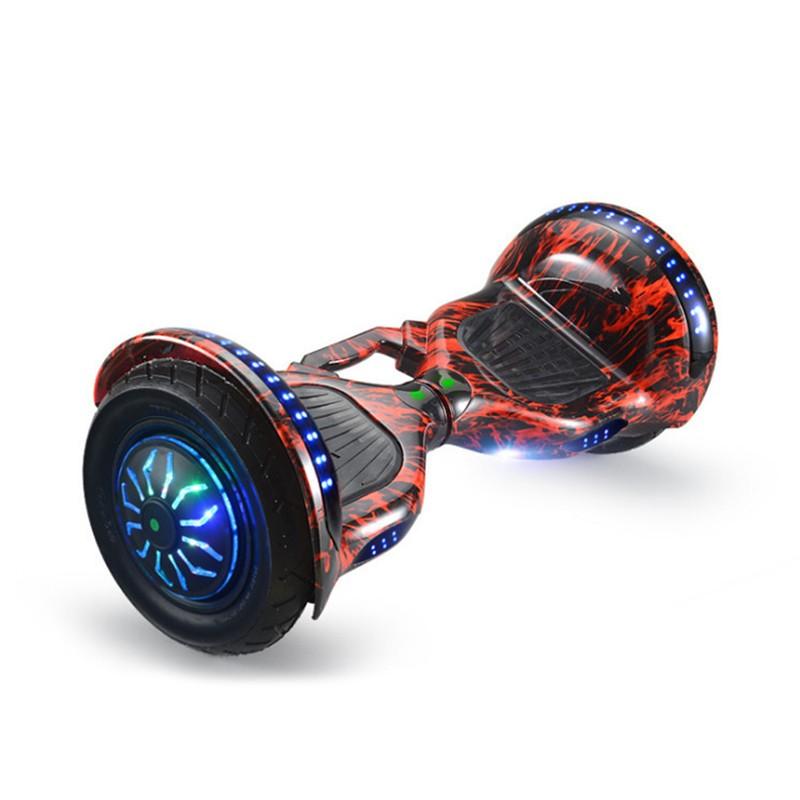 Ховърборд с 10 инчови гуми, Bluetooth връзка, високоговорител и LED светлини 3