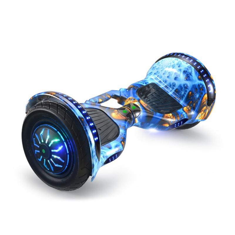Ховърборд с 10 инчови гуми, Bluetooth връзка, високоговорител и LED светлини 1