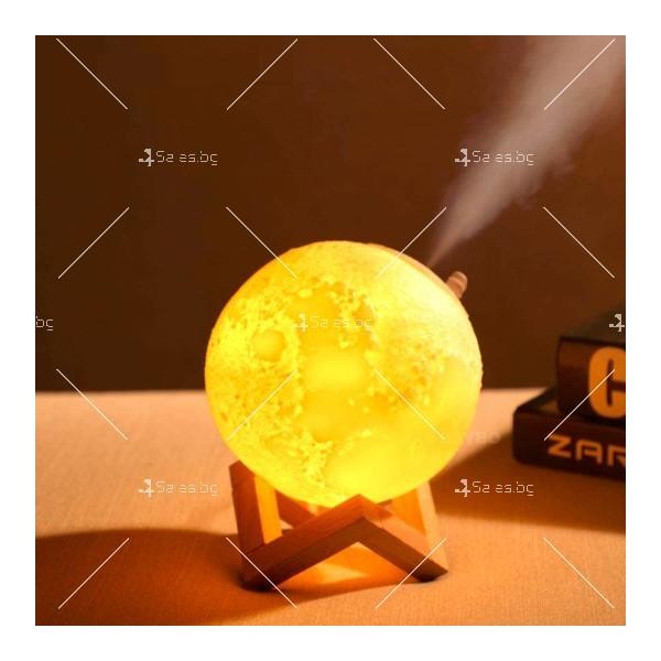 LED 3D лампа-луна с дистанционно управление TV848 14