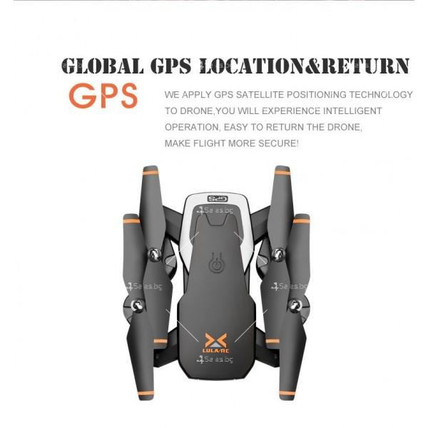 Сгъваем дрон с 4K HD заснемане и професионален DRON HJ28-GPS 4