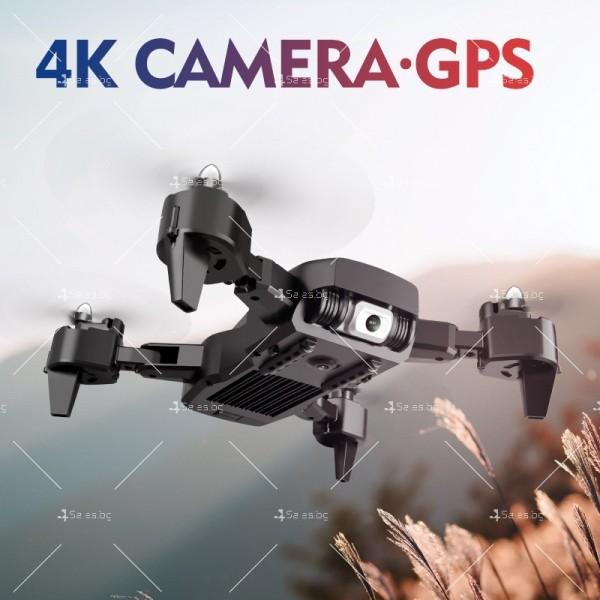 Сгъваем дрон с 4K HD заснемане и професионален DRON HJ28-GPS 7