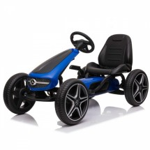 Детска картинг кола Mercedes с педали и 4 колела от EVA пяна