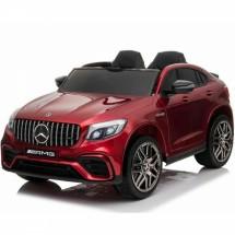 Двуместен акумулаторен джип Mercedes 4х4, 12V с дистанционно и MP4 видеодисплей