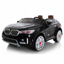 Двуместен акумулаторен джип BMW X7 с кожени седалки и вграден MP3 плеър