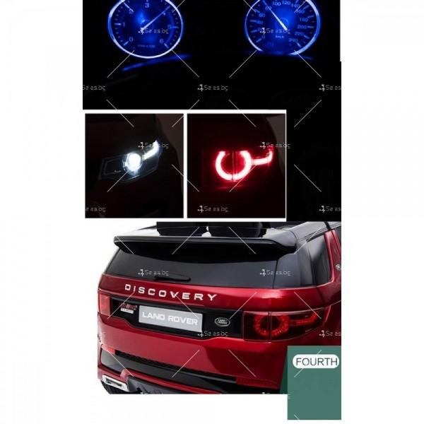 Акумулаторен детски джип Land Rover Discovery, Лицензиран модел 12
