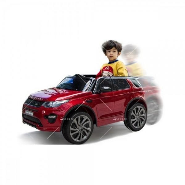 Акумулаторен детски джип Land Rover Discovery, Лицензиран модел 2