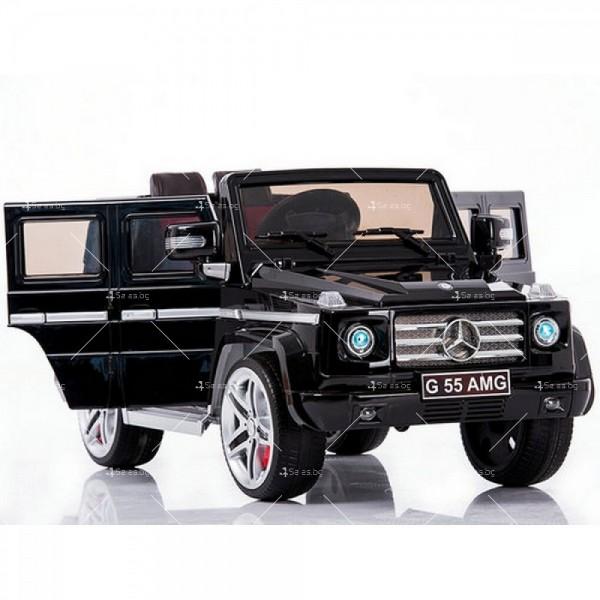Лицензиран модел акумулаторен детски джип Mercedes G55 AMG 2