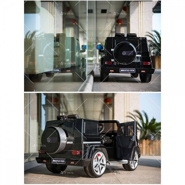 Лицензиран модел акумулаторен детски джип Mercedes G55 AMG 4