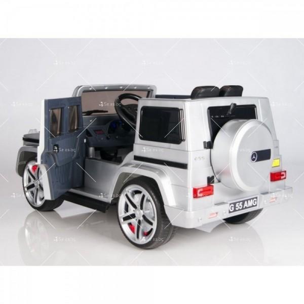 Лицензиран модел акумулаторен детски джип Mercedes G55 AMG 6