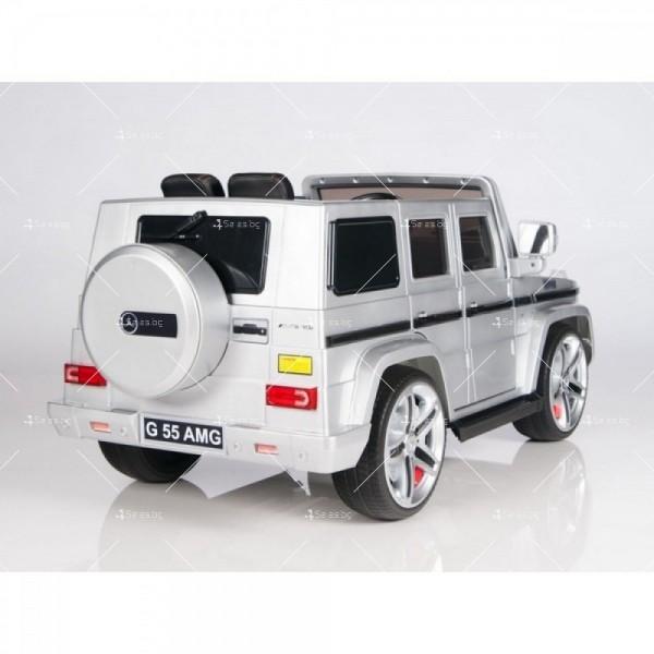 Лицензиран модел акумулаторен детски джип Mercedes G55 AMG 10