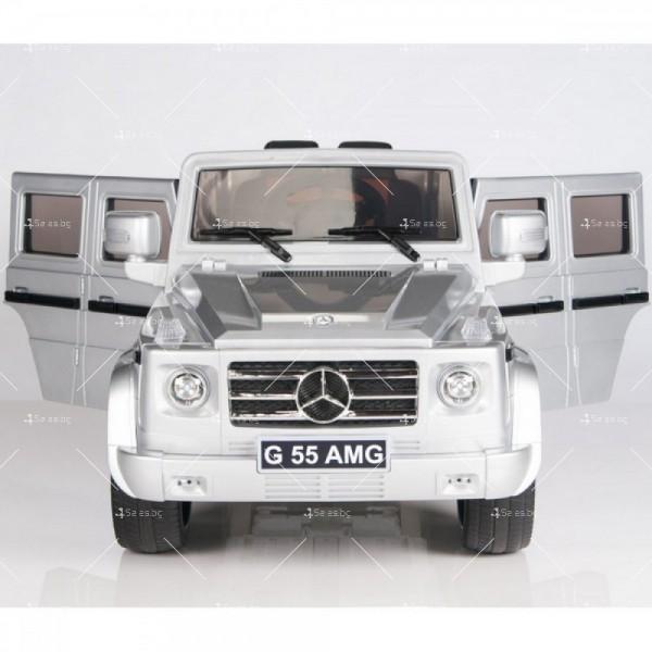 Лицензиран модел акумулаторен детски джип Mercedes G55 AMG 11