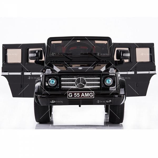 Лицензиран модел акумулаторен детски джип Mercedes G55 AMG 12
