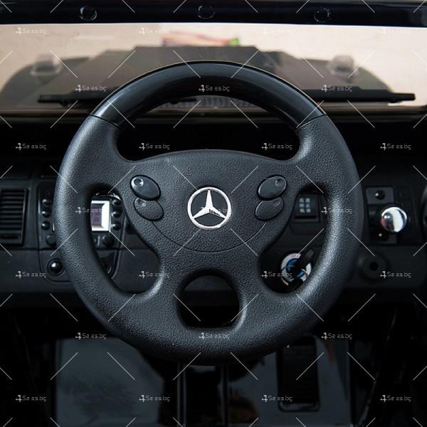 Лицензиран модел акумулаторен детски джип Mercedes G55 AMG 13