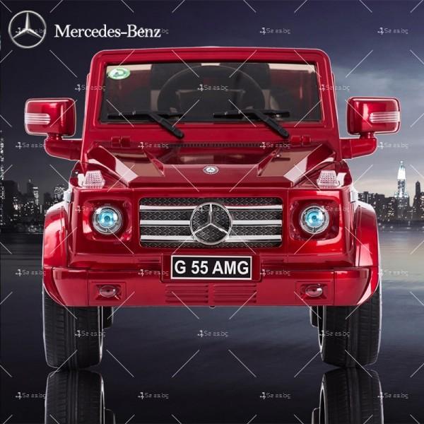 Лицензиран модел акумулаторен детски джип Mercedes G55 AMG 15