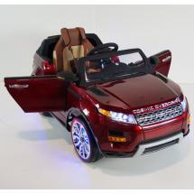 Акумулаторен джип с Bluetooth дистанционно и меки гуми Range Rover