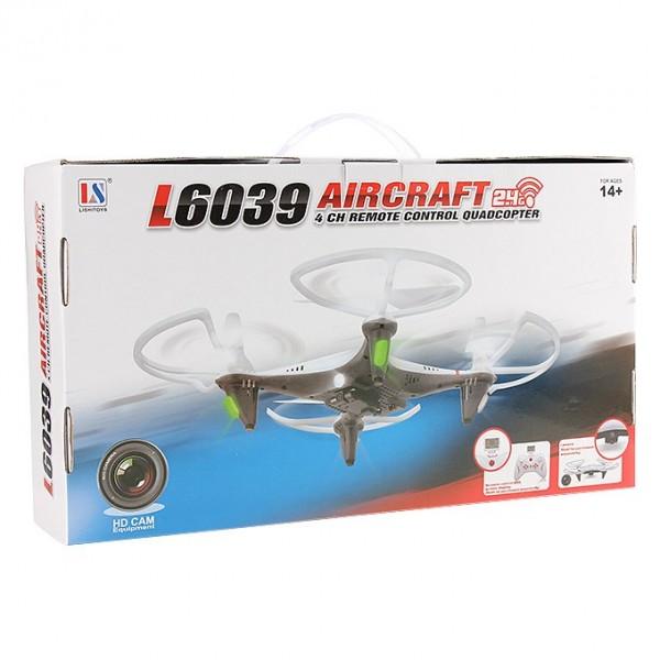Дрон Aircraft L6039 500mAh 2.0 mpx HD камера дистанционно управление 17