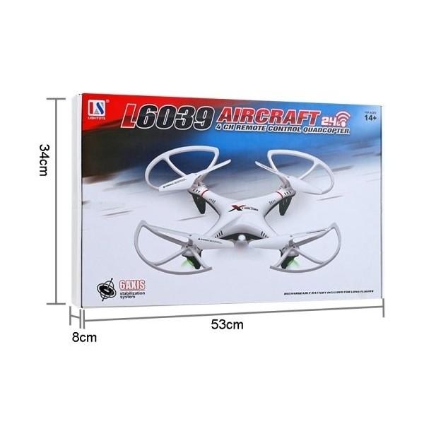 Дрон Aircraft L6039 500mAh 2.0 mpx HD камера дистанционно управление 18