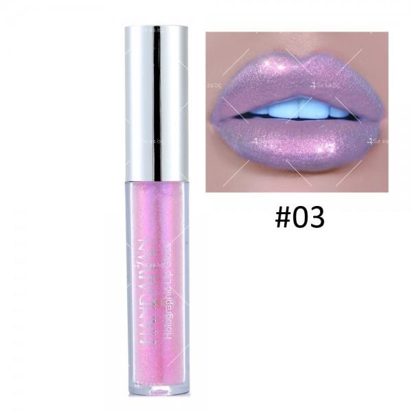 Водоустойчив, блестящ гланц за устни с дълготраен ефект- HZS316 2
