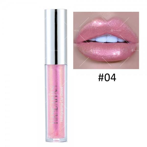 Водоустойчив, блестящ гланц за устни с дълготраен ефект- HZS316 3