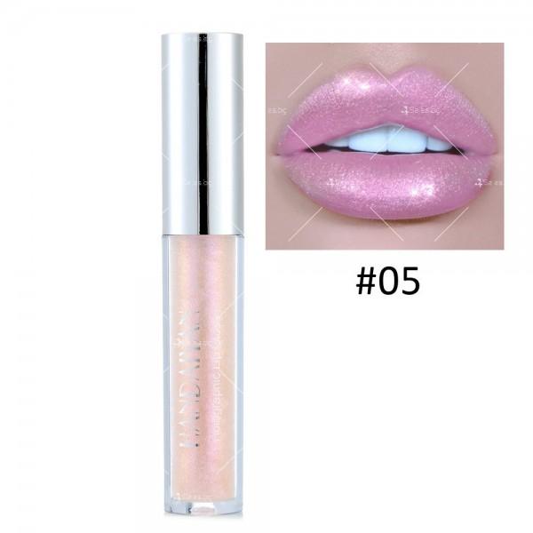 Водоустойчив, блестящ гланц за устни с дълготраен ефект- HZS316 4