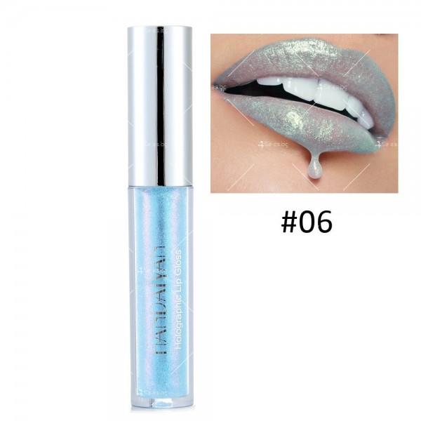 Водоустойчив, блестящ гланц за устни с дълготраен ефект- HZS316 5