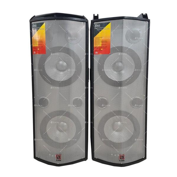 Комплект от два броя мощни караоке тонколони с DJ пулт 5