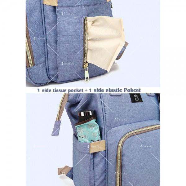 Детска раница-чанта за аксесоари с многофункционална използваемост 7
