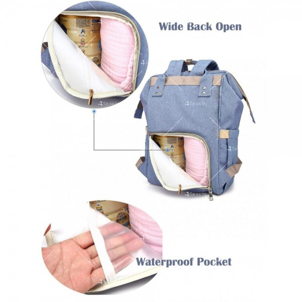 Детска раница-чанта за аксесоари с многофункционална използваемост 8