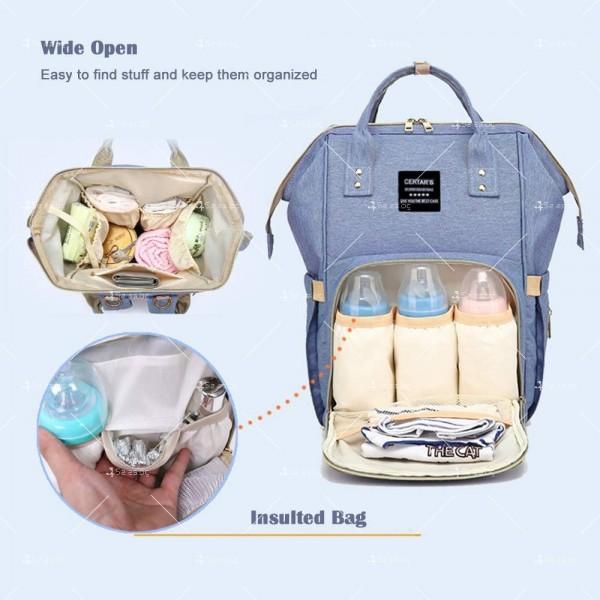 Детска раница-чанта за аксесоари с многофункционална използваемост 10