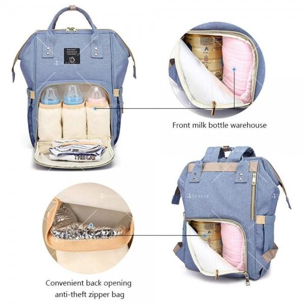 Детска раница-чанта за аксесоари с многофункционална използваемост 11
