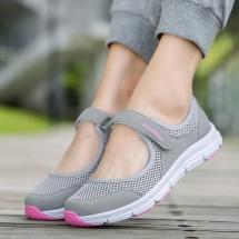 Спортни, летни дамски обувки от дишаща материя в 6 цвята