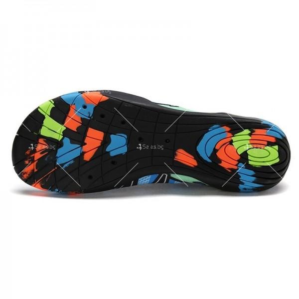 Мъжки аква обувки от бързосъхнеща материя и неплъзгаща се гумена подметка X SHOE1 6