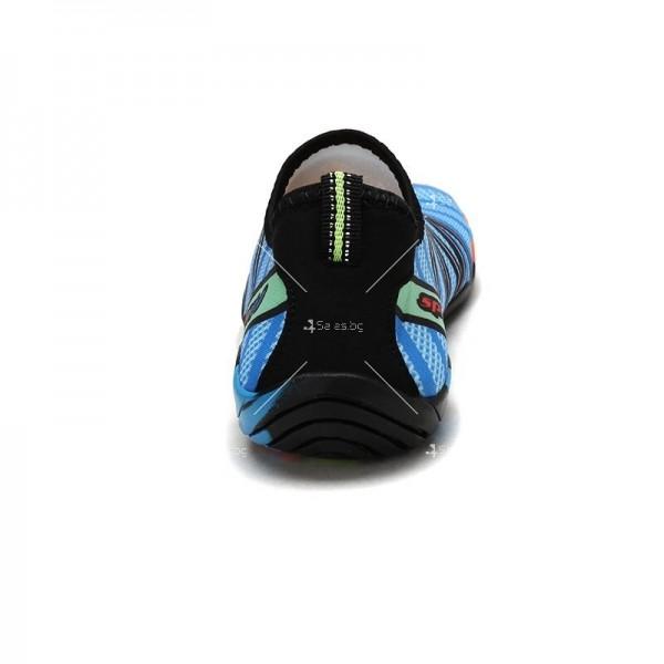 Мъжки аква обувки от бързосъхнеща материя и неплъзгаща се гумена подметка X SHOE1 7