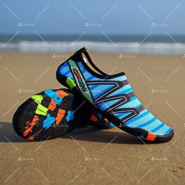 Мъжки аква обувки от бързосъхнеща материя и неплъзгаща се гумена подметка X SHOE1 8