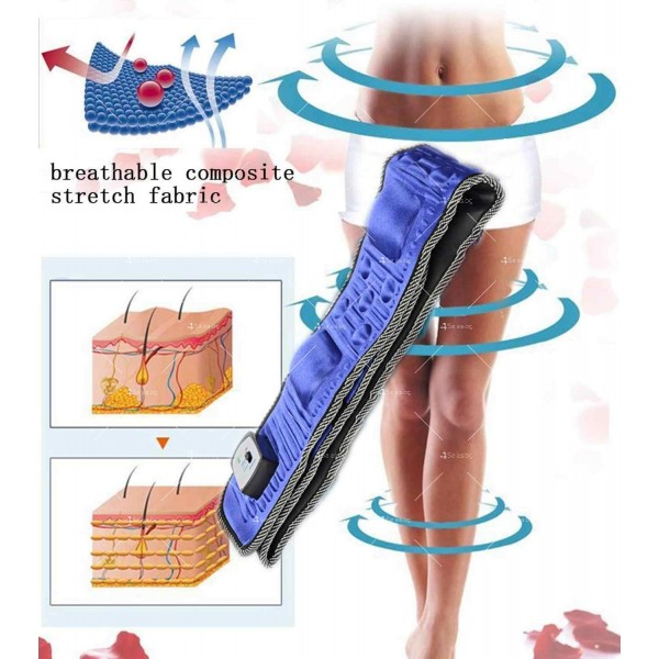 Масажен, антицелулитен колан с отслабващ ефект за стегнато и стройно тяло TV107 2