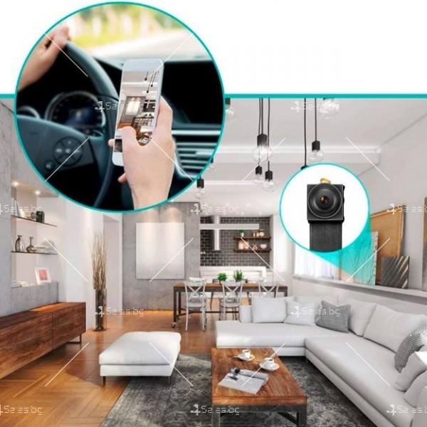 Wi Fi мини скрита камера с Full HD 4K качество на образа и антена V 89 IP13 3