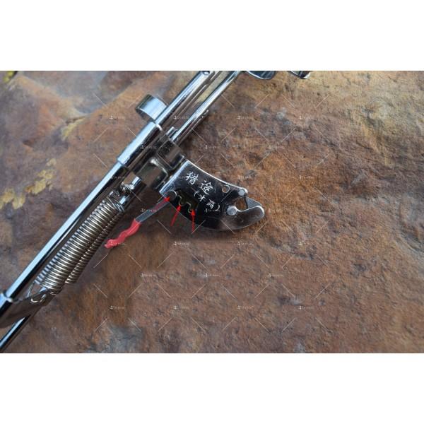 Автоматичен държач за въдица с двойна пружина от неръждаема стомана 11